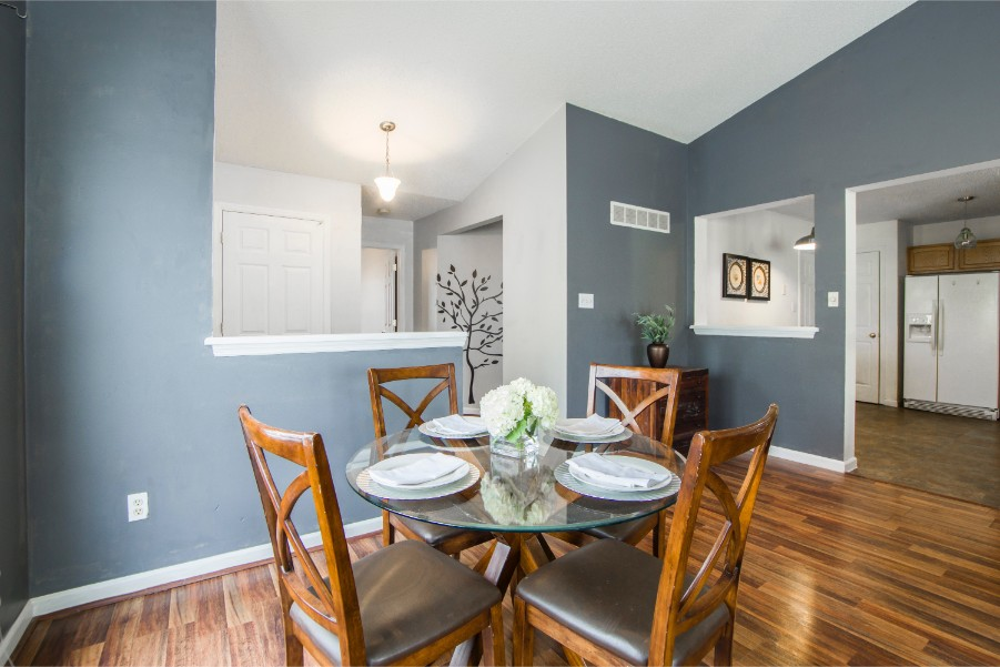 This Popular Blue Paint Is Great For, Slate Blue Dining Room