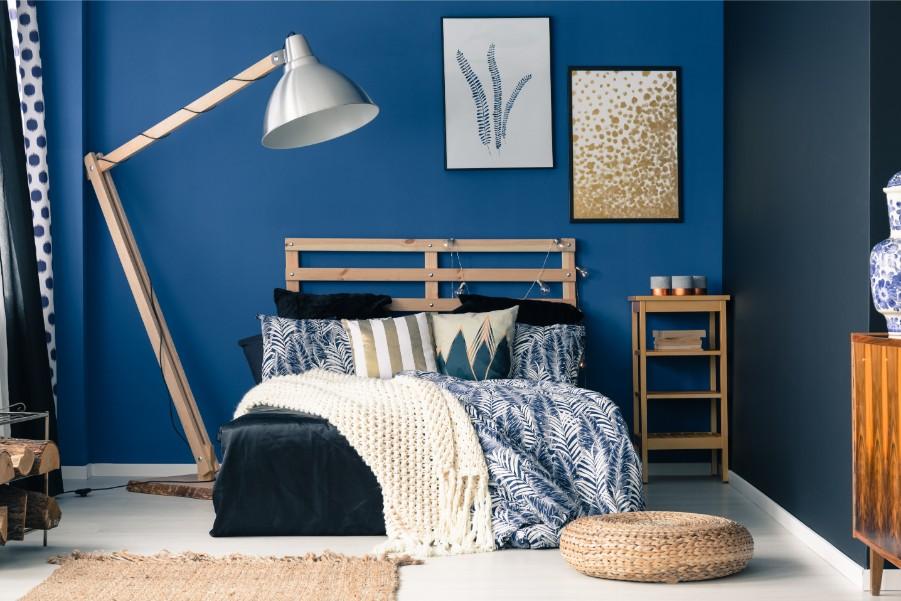The Best Blue Paint for Bedrooms - Paintzen