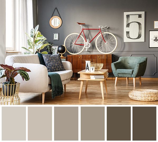 Popular Interior Paint Colors Living Room: Popular Neutral Interior Paint Colors 2018