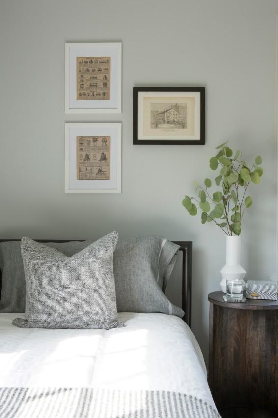 grisoro designs gray bedroom