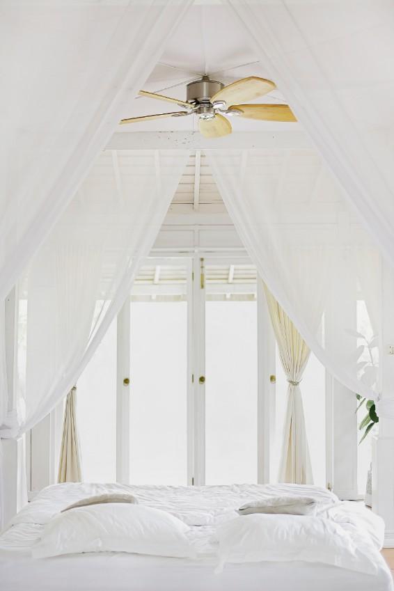 white breezy bedroom