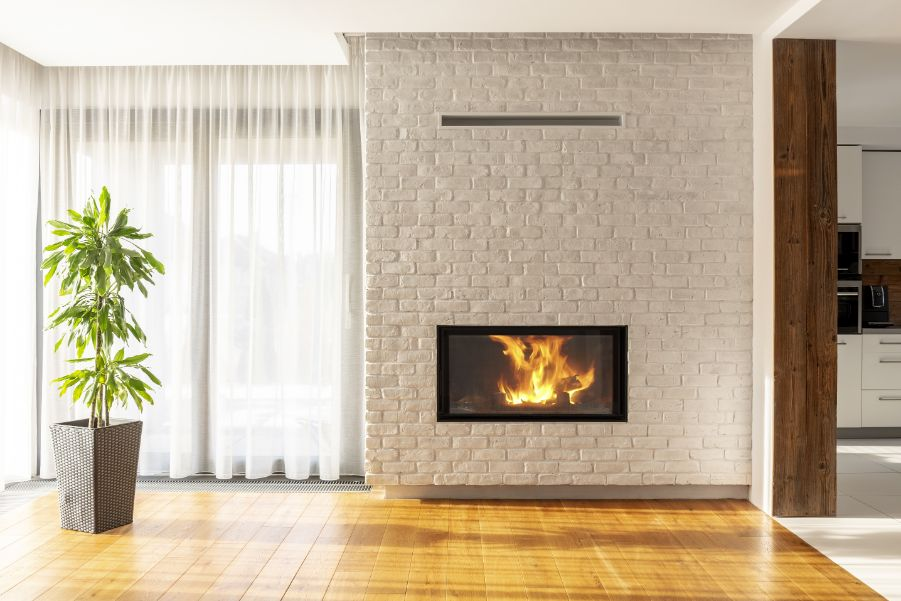 How Do You Pick The Best Paint For A Brick Fireplace Paintzen